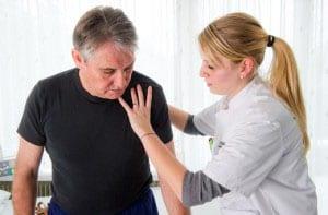Боли и отек при раке легких