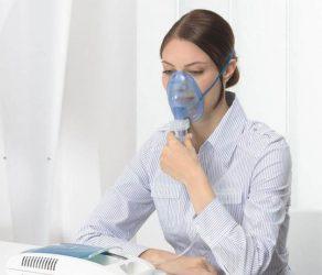Ингаляции при температуре через небулайзер
