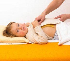 Как сделать компресс от кашля для ребенка