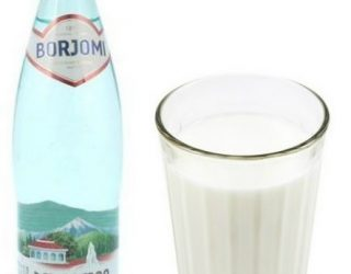 Инструкция приготовления боржоми с молоком от кашля