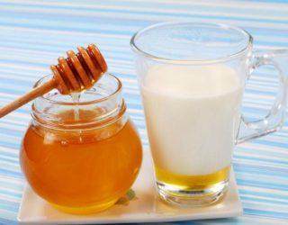 Инструкция приготовления молока с маслом и медом от кашля