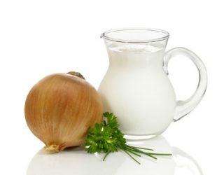 Как приготовить и принимать от кашля молоко с луком