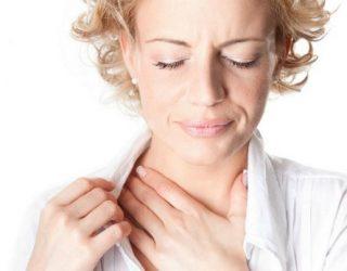 Першение в горле и позывы кашля
